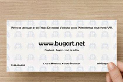 Flyers et sommaire du catalogue Bug'art.