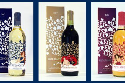 Packaging Gamme de vin Premium