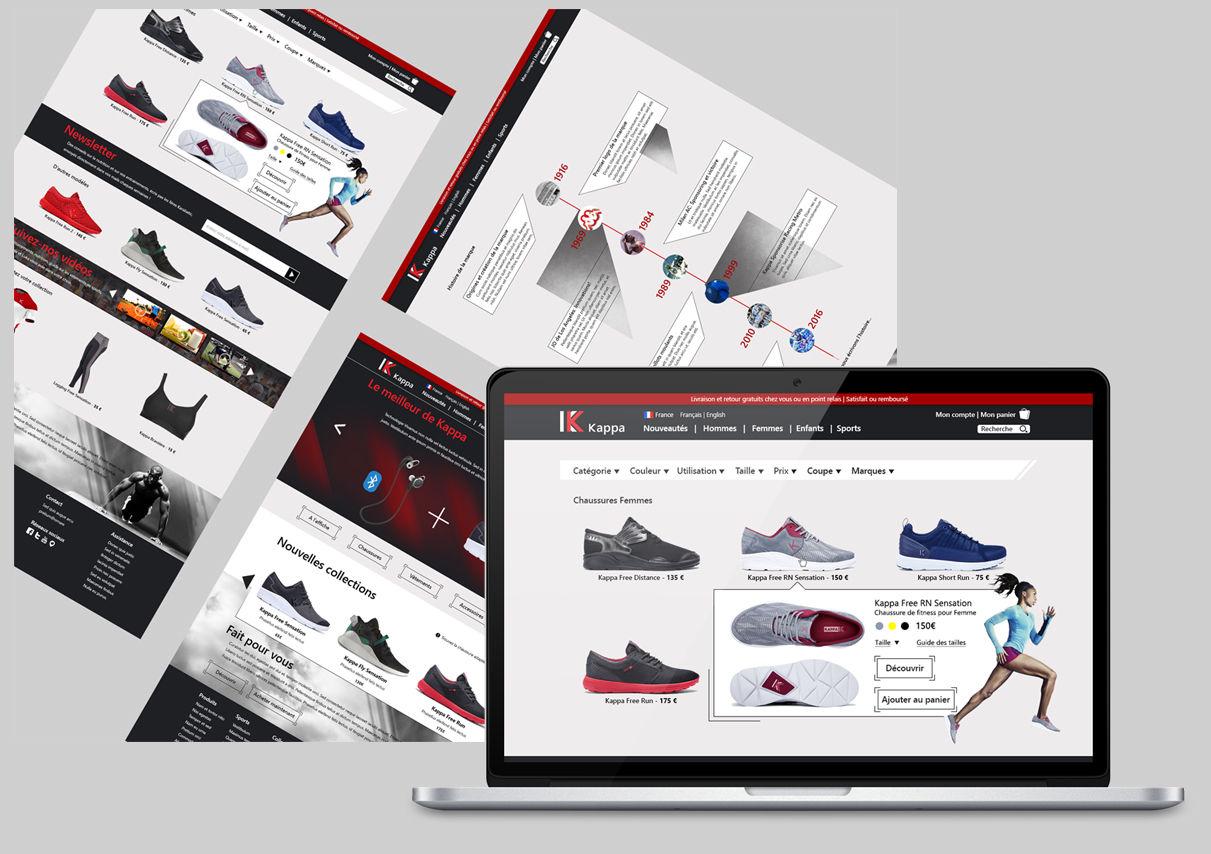 Webdesign Kappa