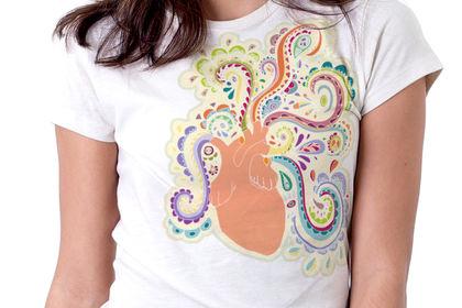 Design sur T-shirt