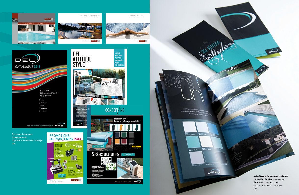 Catalogue et Brochures DEL