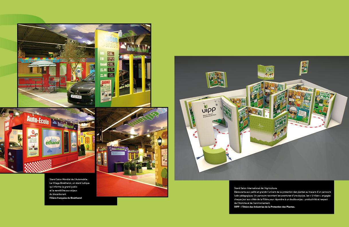 Stand Bioéthanol + UIPP
