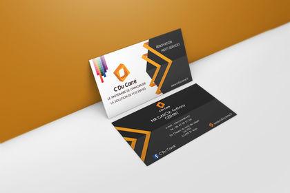 Carte de visite Client C'Du Carré