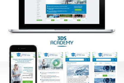 Interface dassault systemes 3ds academy