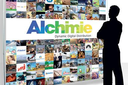Photocall pour Alchimie