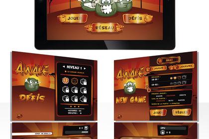 Concept art Jeu, application mobile AWALÉ