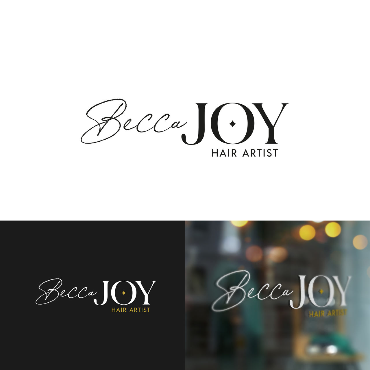 Logo pour Becca Joy, Hair Stylist