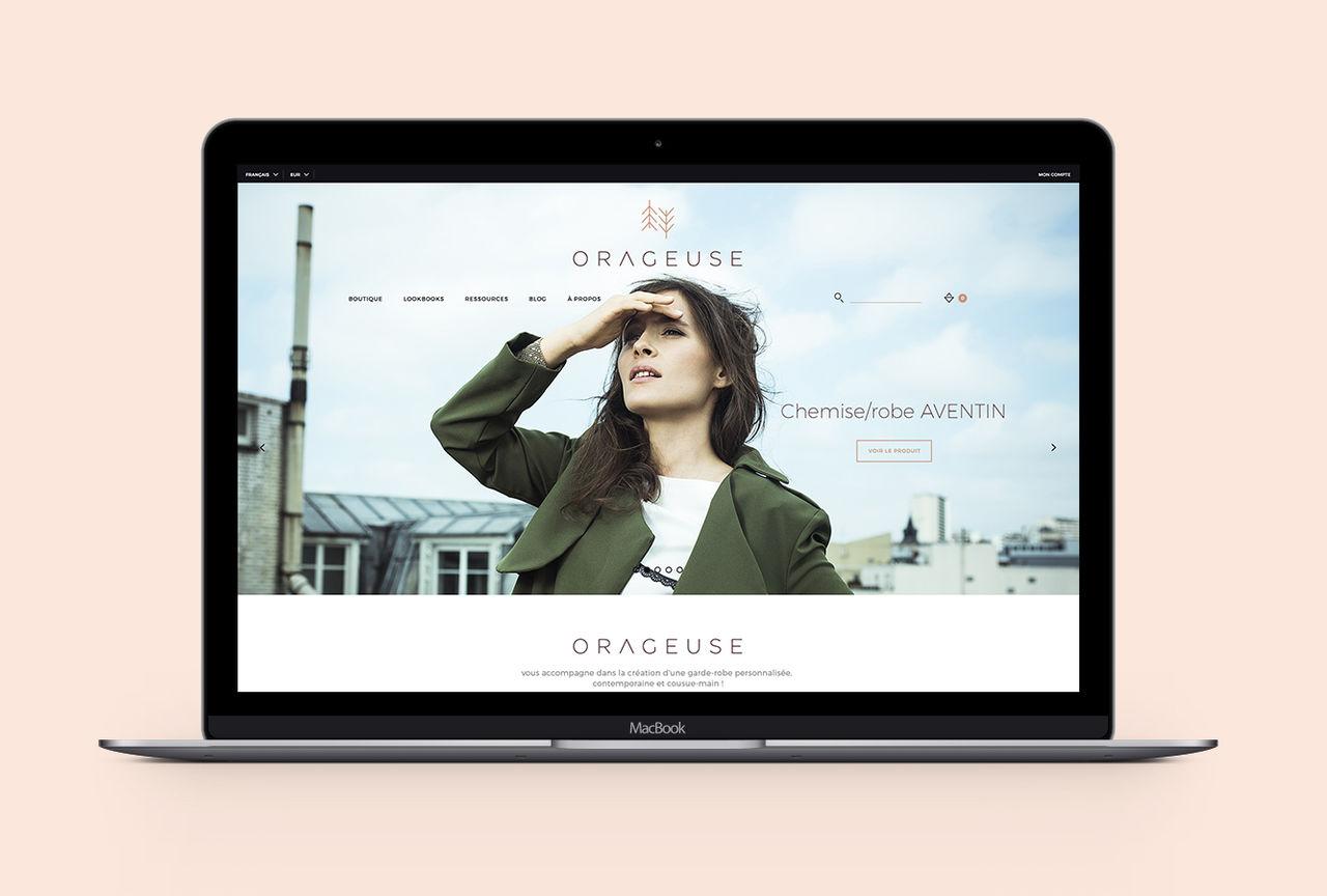 Orageuse — Boutique en ligne