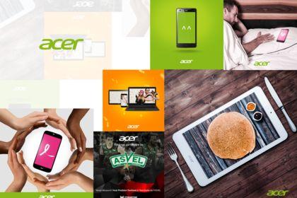 Acer France : Design social média