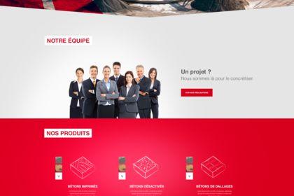Webdesign entreprise BTP