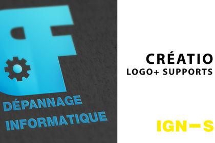 Logo et supports print