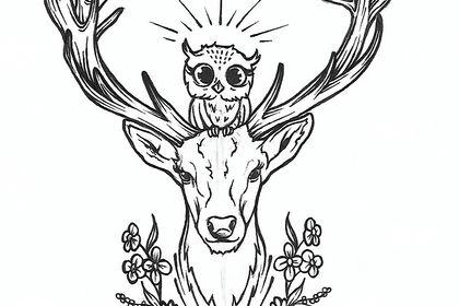 Création modèle tatouage