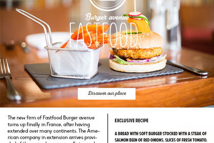 Blog Fast food - Burger avenue