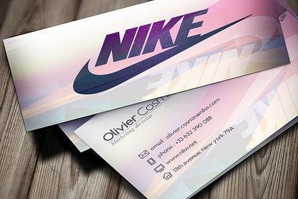 Carte de visite - Nike