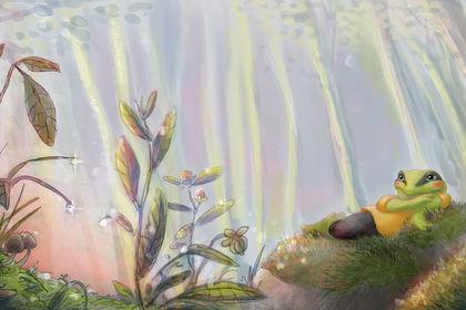 "Illustration ""Le Voyage de Mentalo"""