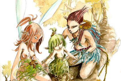 Naissance d'une Elfe