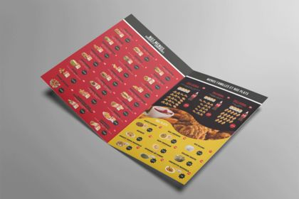 Flyers menu