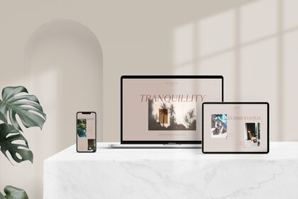 Webdesign pour Les Nomades