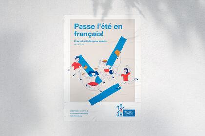Affiche pour l'Institut français