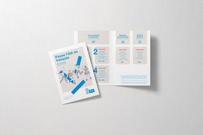 Brochure pour l'Institut français