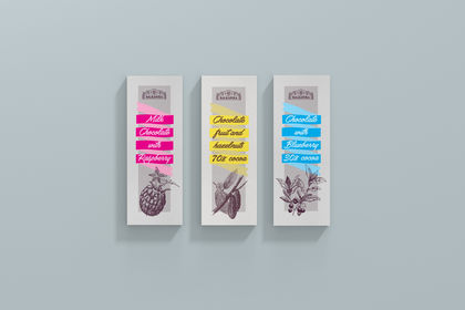Packaging pour chocolats de BioBalkanika
