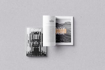 Couverture pour magazine de photographie