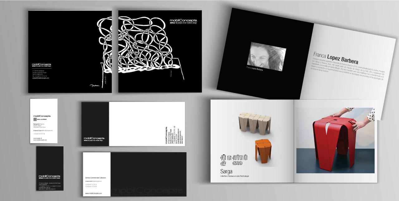 Catalogue + identité visuelle