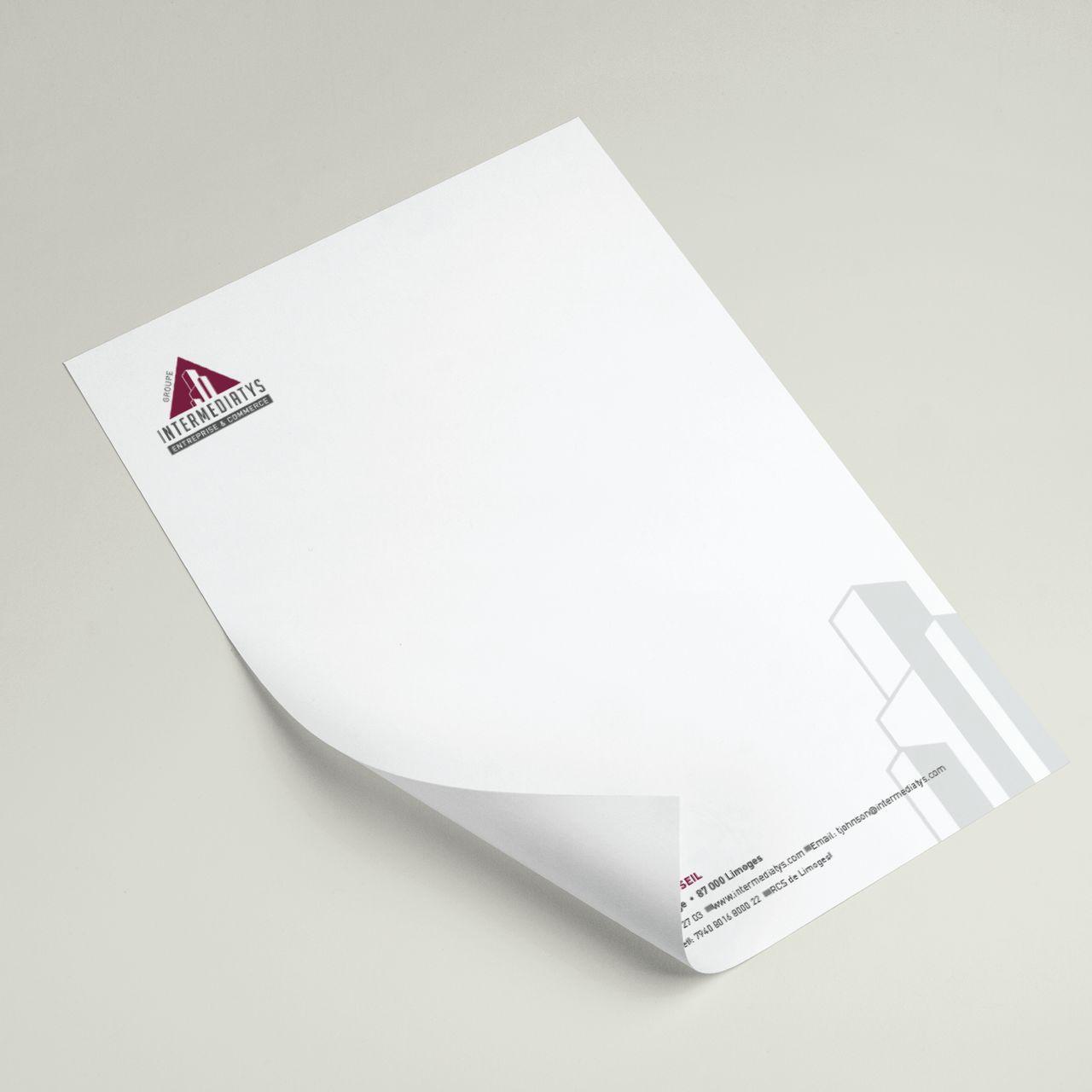 Tête de lettre Intermediatys Conseil