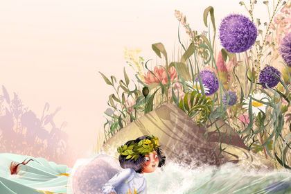 Illustration Poucelina