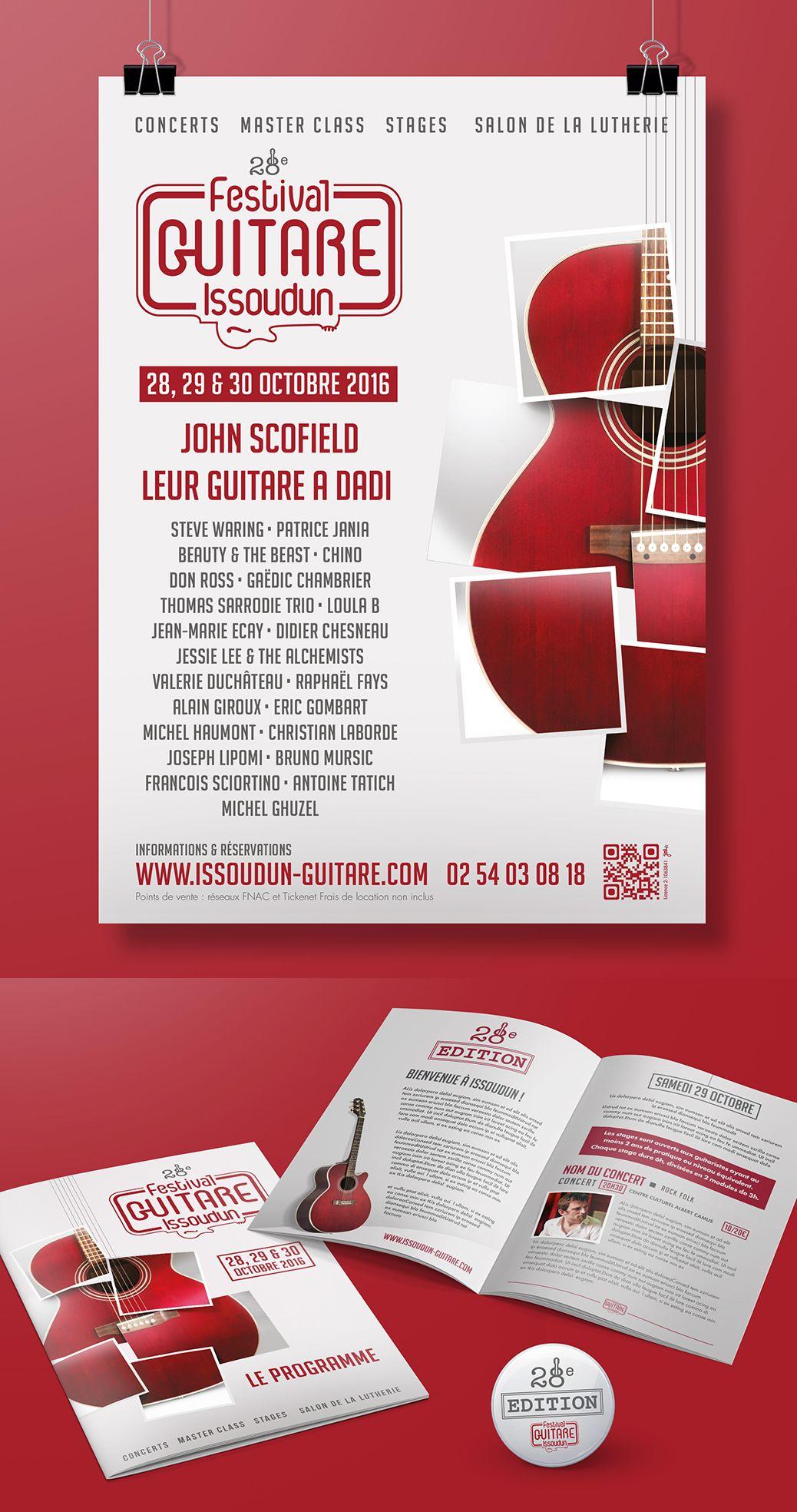 Affiche Festival Guitare