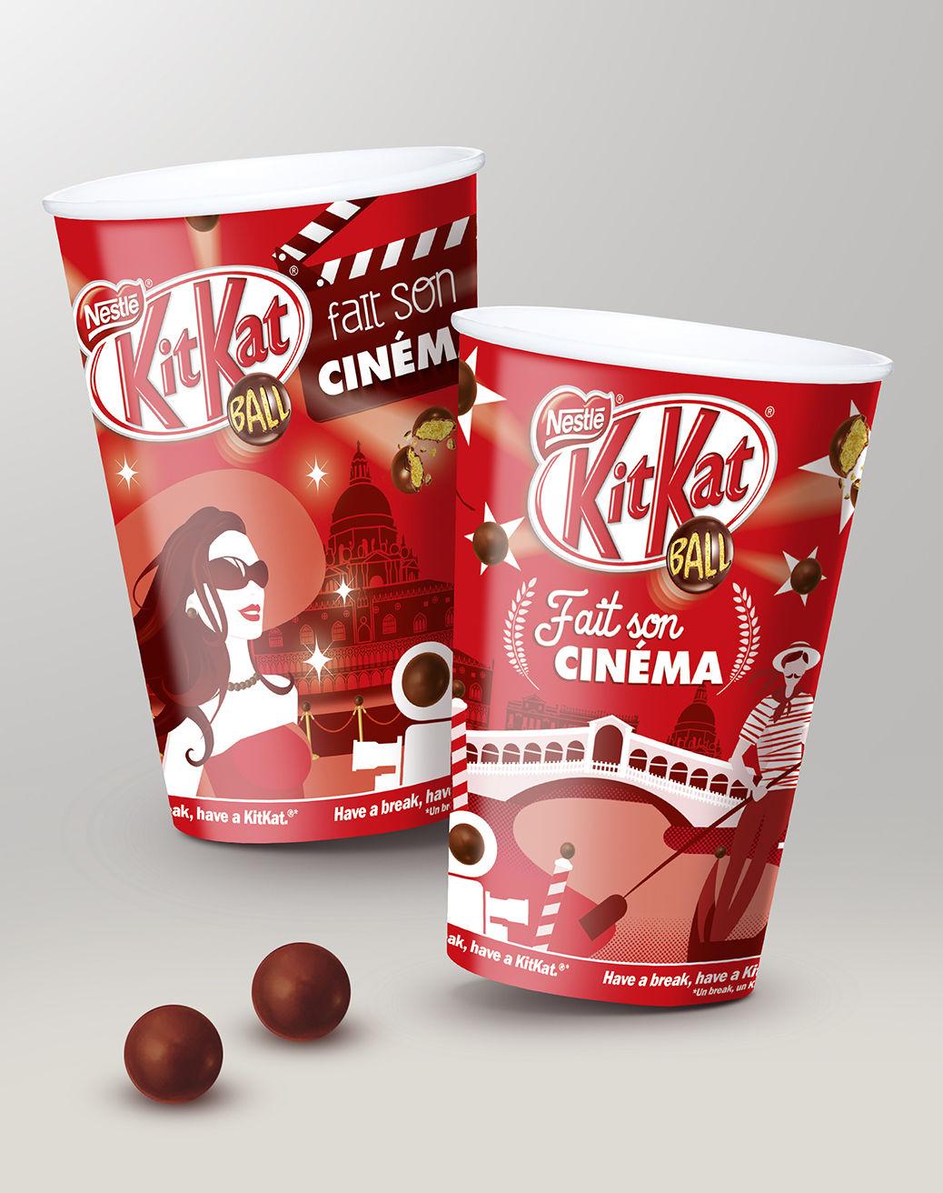 Illustration KitKat Ball