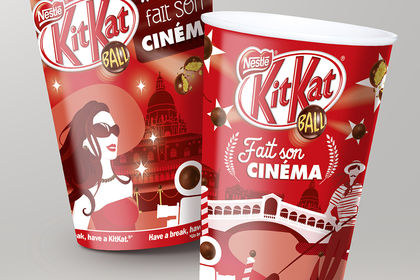 Illustration KitKat Ball