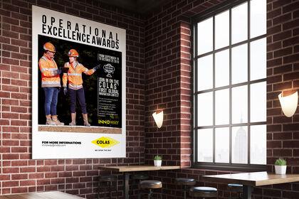 Affiche concours Colas