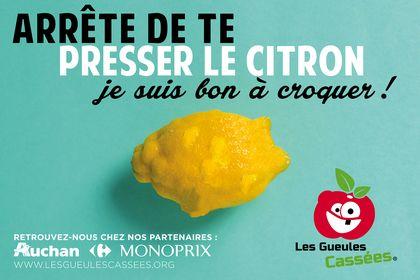 Campagne publicitaire : Les Gueules Cassées