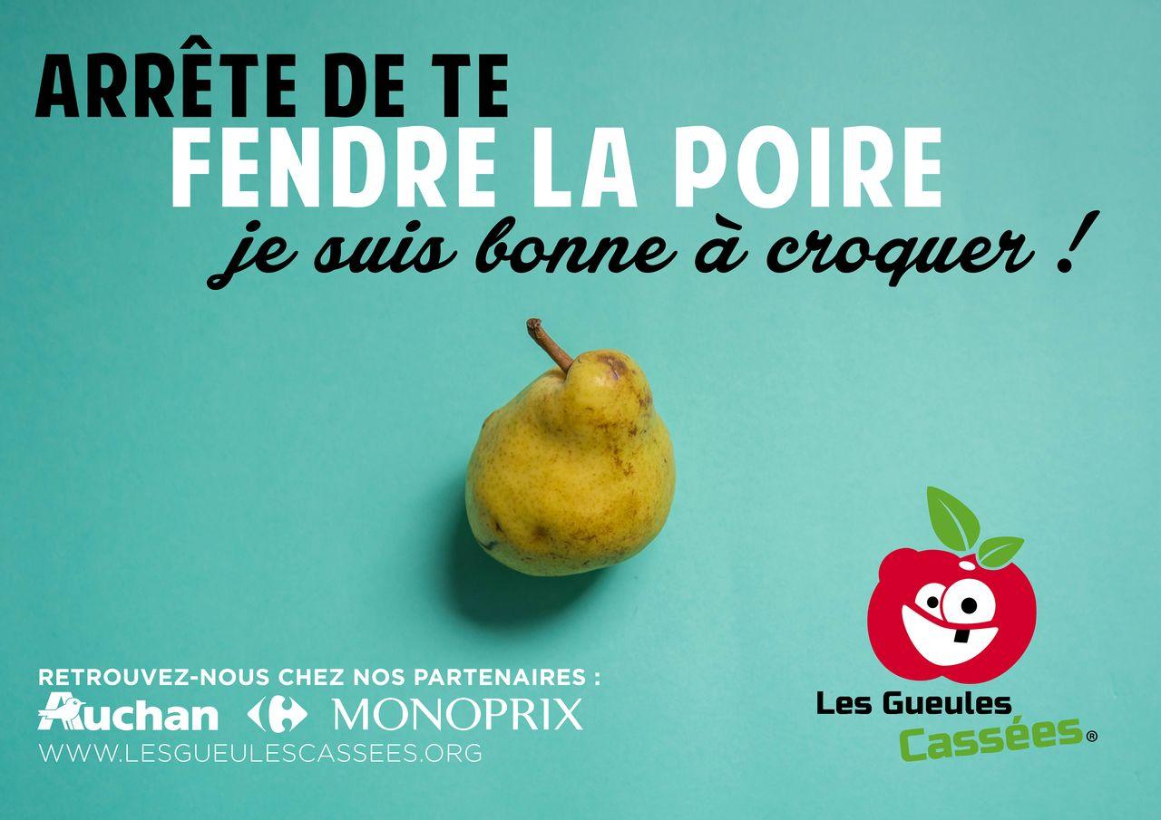 Campagne publicitaire : Les Gueules Cassées.