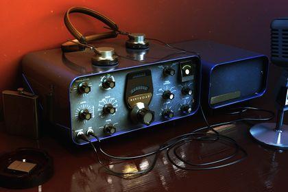 Illustration Radio vintage