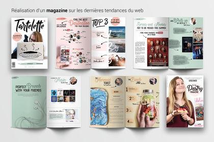 Réalisation d'un magazine