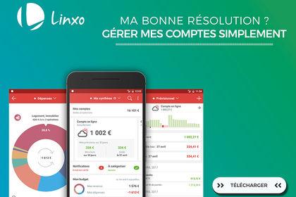 Création de jeux de bannières pour Linxo