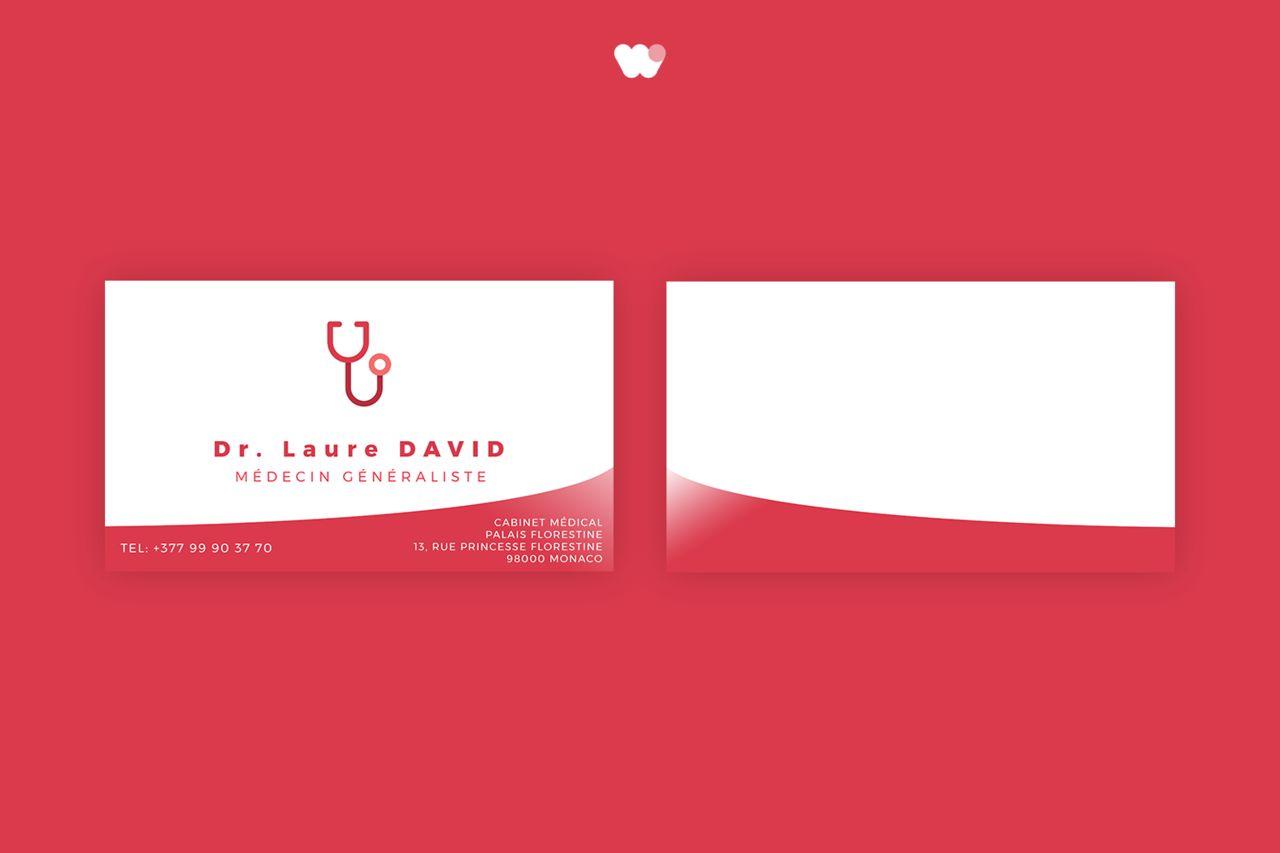 Cartes de Visite - Dr Laure DAVID