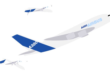 Motion design Airbus