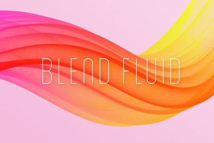 Logo Blend Fluid