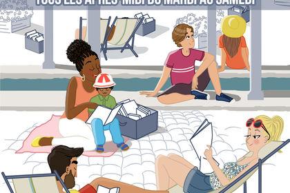 Lire au lavoir