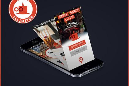 App Mobile Café illimité