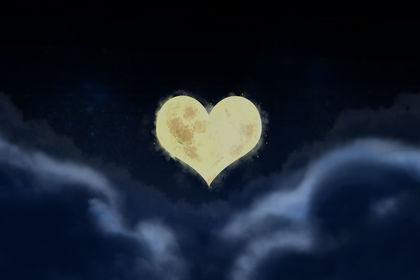 Bannière coeur