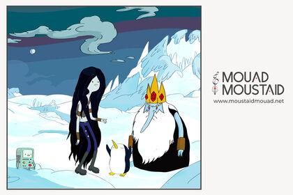 Marceline & The Ice King