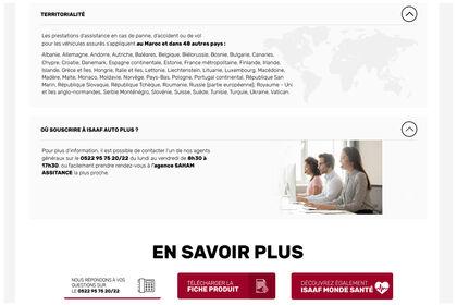 Mise en page site Saham 2