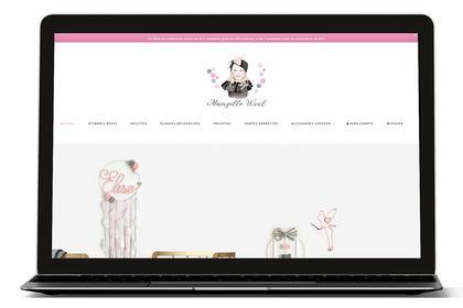 Site E-commerce Mamzelle Wool