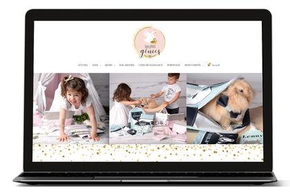 Site E-commerce Les p'tits Génies