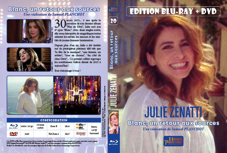 Jaquette Blu-ray Julie Zenatti