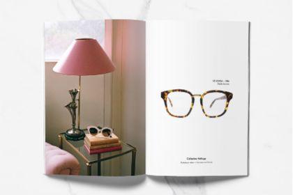 Mise en page lunette de luxe
